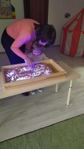 Арт-терапия. Рисование песком